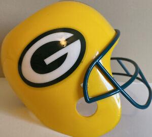 NFL Green Bay PACKERS Helmet Snack Hallmark Cards Tailgate Upside Down Bowl New