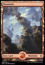 Magic MTG 1x MONTAGNA - MOUNTAIN  n. 242 / 245  ITA M-NM Zendikar