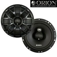 "Orion XTR65.3 XTR 6.5""inch Car Audio 3-Way Coaxial Speakers 4 ohms 400 Watts Max"