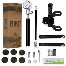 Bomba Bicicleta 210 PSI de presión alta Bicicleta De Aire Inflador Medidor de mano + Caja de Reparación de Neumáticos
