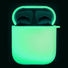 1Pcs Headphone Protect Case Cover Glow in The Dark For Apple AirPods 2 Silicone.