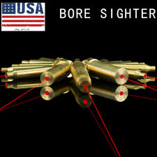 Brass Red Dot Laser CAL .223 REM Bore sight  Cartridge BoreSighter For Scope Gun