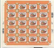 USA**THANKSGIVING 1999-SHEET 20 stamps x 34ct stamps-PUMPKIN-POMPOEN-POTIRON-MNH