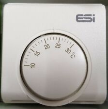 ESI Chauffage Central Thermostat base mécanique réglable cadran Stat 230 V