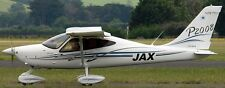P-2008 Tecnam Italy Ultralight Airplane Wood Model Replica Small Free Shipping