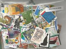 Lot 500 timbres des Pays Bas