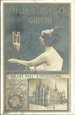 MILLE DI OUESTI GIORNI - SALUTI DALL ESPOSIZIONE MILANO SEMPIONE RP 1906