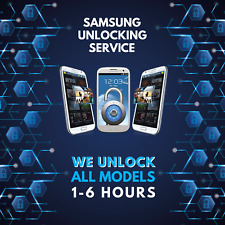 Unlock code for Samsung Galaxy S6 S5 S4 S3 S2 O2 Vodafone EE Three - 2-6 HOURS!