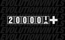 200000+ sticker decal JDM ill stance FCK fresh illmotion illest high mileage
