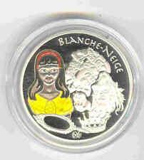 1,50 EURO ARGENT 2002 PREMIÈRES PIÈCES COLORISÉES DU MONDE GAVROCHE/CONTES