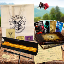 Harry Potter Stil Zauberstab Hogwarts Express Ticket & Weihnachten Bonus Artikel