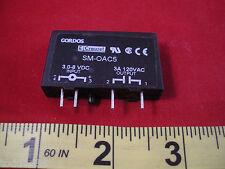 Crouzet SM-OAC5 Relay I/O Module Input 3.0-8v dc Output 3a 120v ac SM0AC5 Gordos