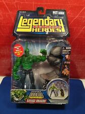 Legendary Heroes Savage Dragon No Shirt Variant Pitt Series Left Leg Figure