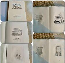 Paris capitale du pittoresque PAUL LOUIS GUILBERT pointes sèches originales