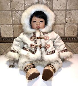 Adora Limited Edition Doll Tuntusuk #181 Of 1000 Eskimo Boy Rare 2005