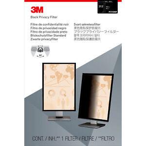 """3M Privacy Filter for 21.5"""" Widescreen Monitor Portrait Black, Matte (pf215w9p)"""