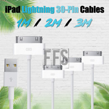 iPad Cable 3ft 6ft 10ft 30PIN Charger USB lot Lightning Cord iPhone 4 iPad 1 2 3