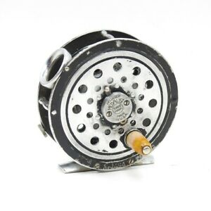1494 Pflueger Medalist Fly Fishing Reel. Round Line Guide. Made in USA.