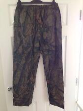 Realtree Waterproof Trousers Camo Fishing Shooting Hunting Carp Stormproof Med