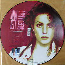 "EX! JOAN JETT DIRTY DEEDS DONE DIRT CHEAP 12"" VINYL PICTURE DISC AC/DC"