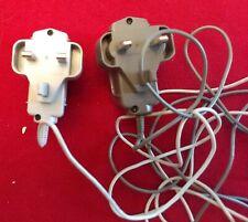 2 Nintendo Power Supply Cords UK WAP-002 (UKV) PRI.: 230V-50HZ Lot 6-Ft Cords