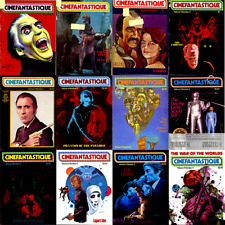 Cinefantastique Magazine Complete Collection First Run ALL Issues on 2 DVDs