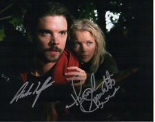 Primeval Photo Signed In Person By Hannah Spearritt & Andrew Lee Potts - D149
