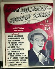 BEST-LOVED HILLBILLY AND COWBOY SONGS (1946) Spike Jones cover