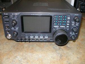 Icom IC-746 Ham Radio Transceiver perfect working condition