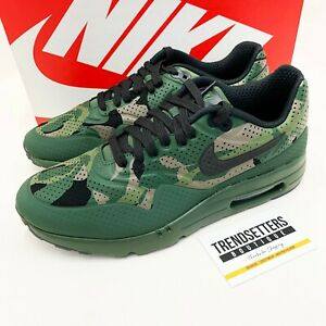 NIKE AIR MAX 1 CAMO ULTRA MOIRE UK QS UK US 8 9 10 11 CAMOUFLAGE 806851-300 RARE
