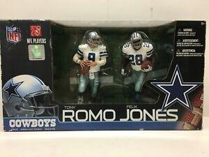 2010 NFL Properties Dallas Cowboys McFarlane Double Tony Romo Felix Jones