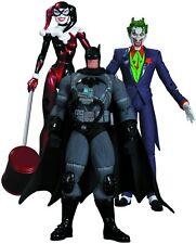 DC Collectibles Hush The Joker Harley Quinn & Stealth Batman 3 Action Figure Set