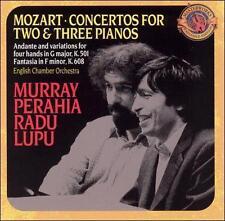 Mozart: Concertos for 2 & 3 Pianos; Andante and Variations for Piano Four Hands