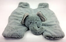 Manhattan Kids Elephant Play Mat Cozy Grey Plush Stuffed Animal