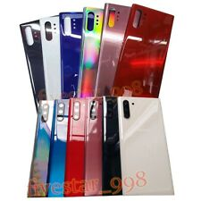 Replacement For Samsung Galaxy Note 10 /10 Plus Back Glass Back Cover+Lens &LOGO