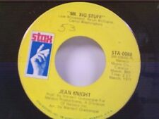 "JEAN KNIGHT ""MR BIG STUFF / WHY I KEEP LIVING THESE MEMORIES"" 45"