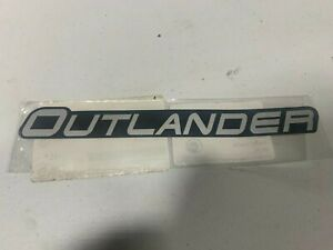 Can-am Outlander Decal 704906004