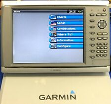 Garmin GPSmap 6212 GPS Chartplotter Display W/ Cover; Fully Tested & Updated