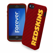 Washington Redskins All Silicone IPHONE 5 soft cell phone cover/case - Licensed