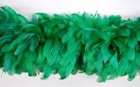 """COQUE BOA - KELLY GREEN 4-6"""" Feathers 72"""" Hats/Costumes"""