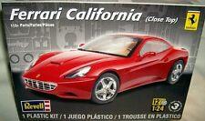revell 1/24 FERRARI CALIFORNIA HT COUPE 2+2 SPORTS CAR