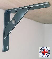 wrought iron shelf brackets (industrial look)(Handmade) 20cm £9.99 per bracket
