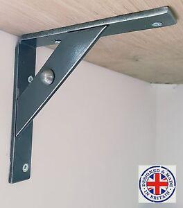 wrought iron shelf brackets, industrial, vintage, L shape bracket, metal bracket