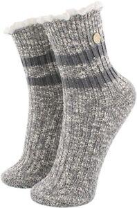 Birkenstock 265818 Women's Fashion Slub Lace Ankle Socks Size L8-L10
