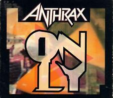 Anthrax - Only Signed CD Single RARE 1993