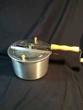 Wabash Valley Farms Whirley Pop Stovetop Popcorn Popper Hand Crank
