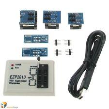 EZP2013 USB Programmer SPI 24 25 93 EEPROM Flash Bios win8 32/64bit 3PCS Adapter
