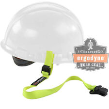Ergodyne Squids Elastic Hard Hat Safety Lanyard-Clamp Buckle Lime