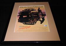 1989 Chevrolet Chevy S-10 Tahoe 11x14 Framed ORIGINAL Vintage Advertisement