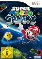 Nintendo Wii Spiel - Super Mario Galaxy 1 DE/EN mit OVP